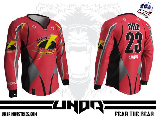 Detroit Thunder Semi Custom Jersey