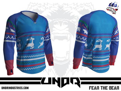 Ugly Sweater 4 Semi Custom Jersey