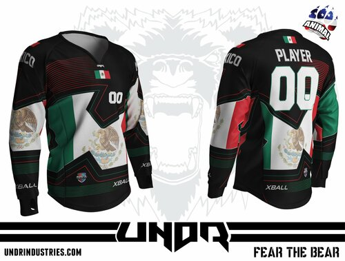Nations Cup Mexico Semi Custom Jersey