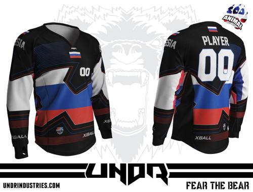 Nations Cup Russia Semi Custom Jersey