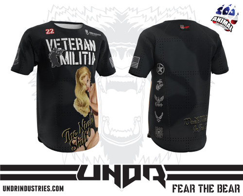 The Night Shift Veteran Militia Tech Shirt