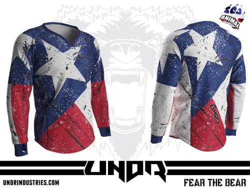 Weathered Texas Semi Custom Jersey