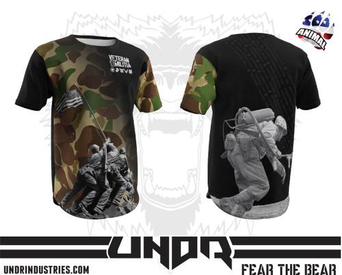 Okinawa Veteran Militia Tech Shirt