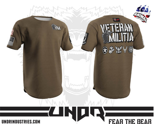 FDE Veteran Militia Tech Shirt