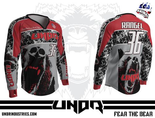 2015 FEAR THE BEAR Semi Custom Jersey