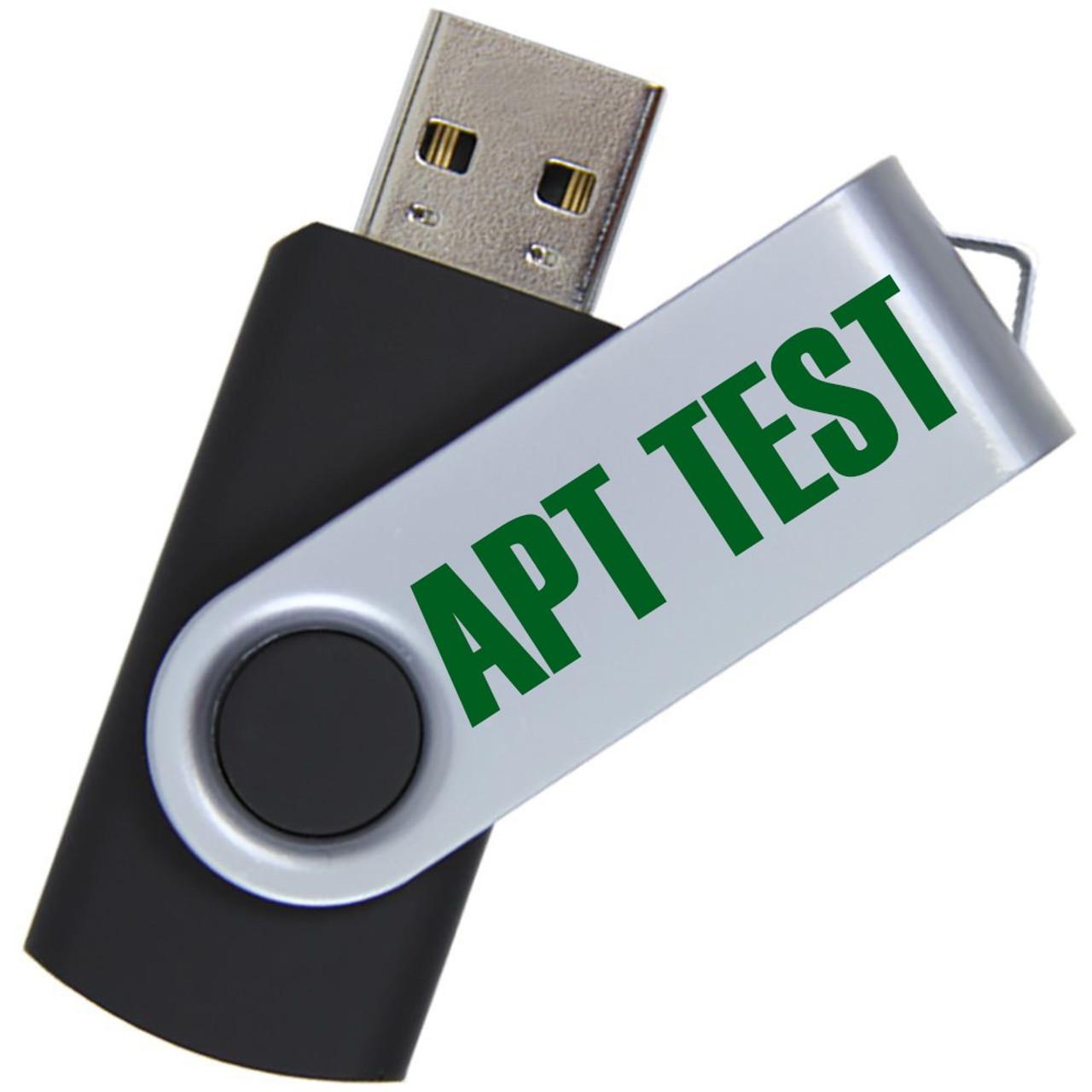APT Test USB Drive w/Scoresheet Files