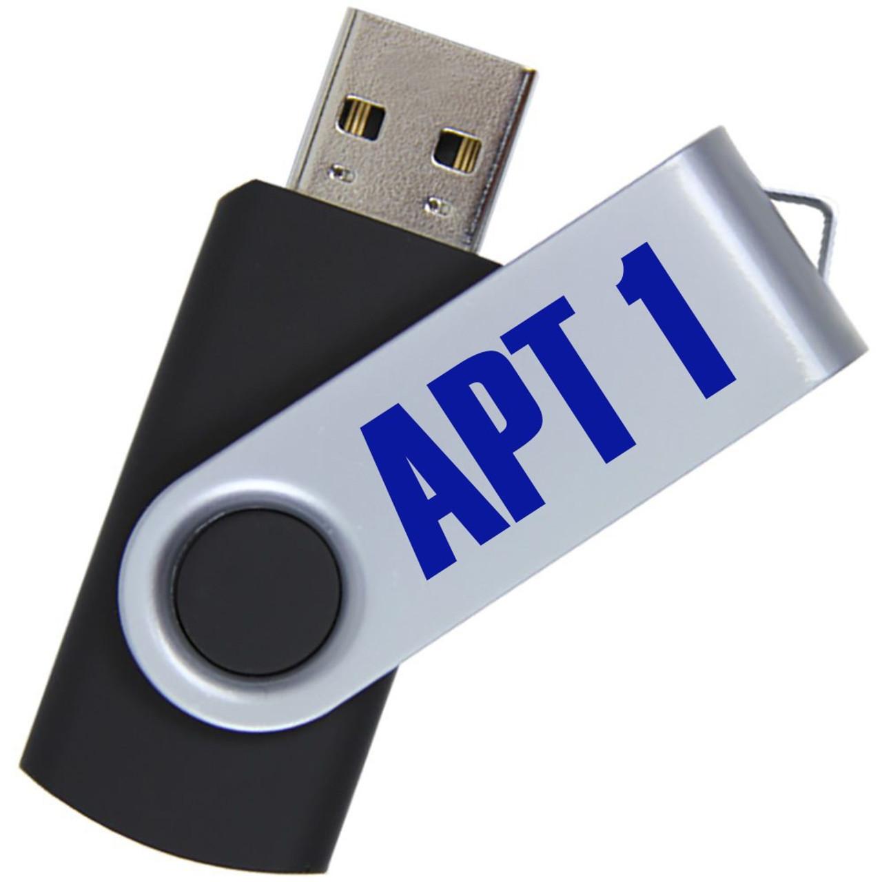 APT1 Extra USB Drive w/Audio Files
