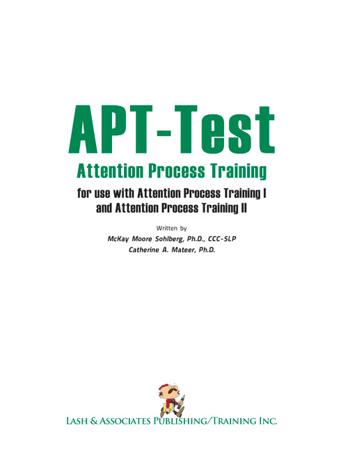 Attention Process Training Test