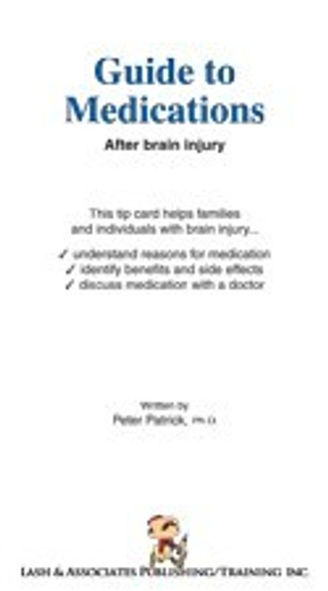Guide to Medications after Brain Injury