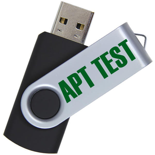 APT Test USB Drive w/Scoresheet Files