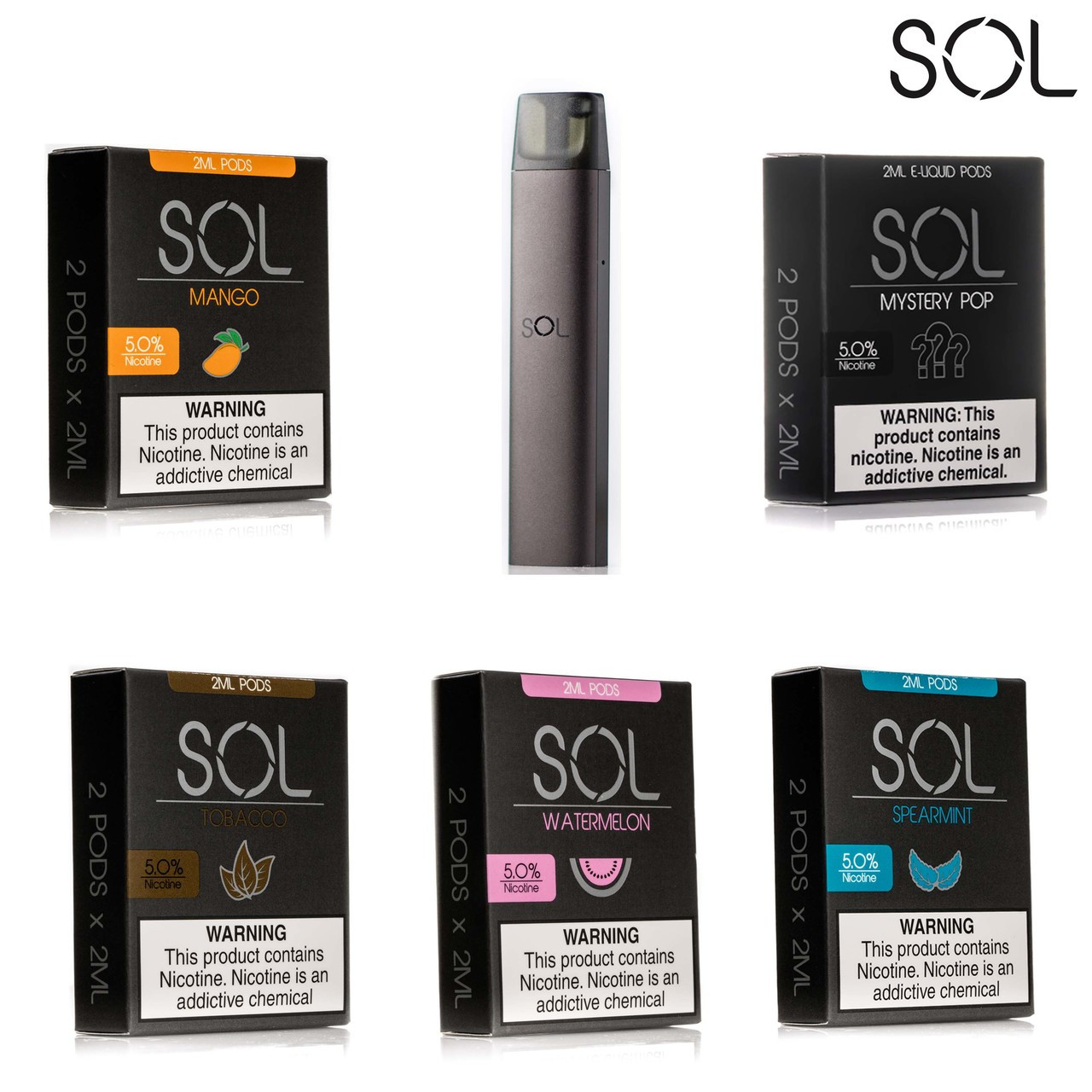 SOL portable vaping solution kit wholesale worldstarvape