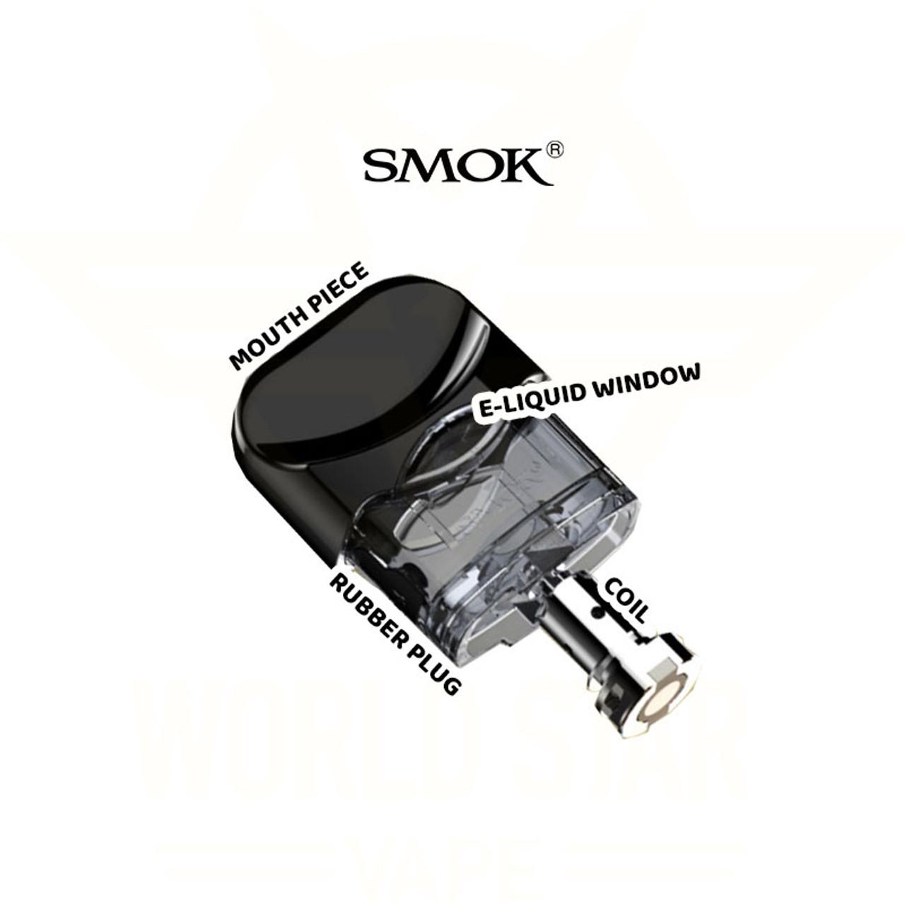 SMOK Nord Replacement Pod Cartridge Wholesale - Worldstarvape