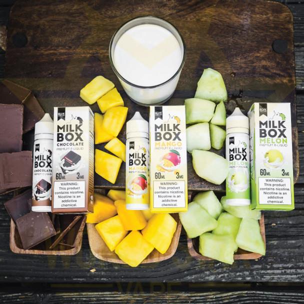 Blvk Milkbox Series Eliquid Wholesale