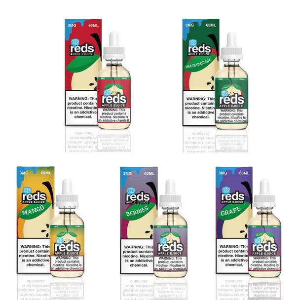 7Daze Reds Iced E-liquid