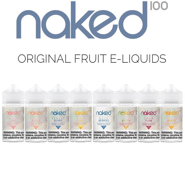 Naked 100 Original Fruit E-liquids   60 ml