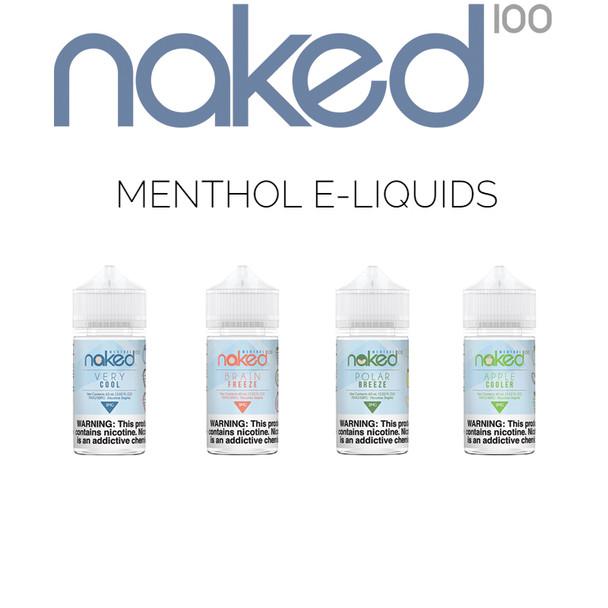 Naked 100 Menthol E-Liquids | 60 ml