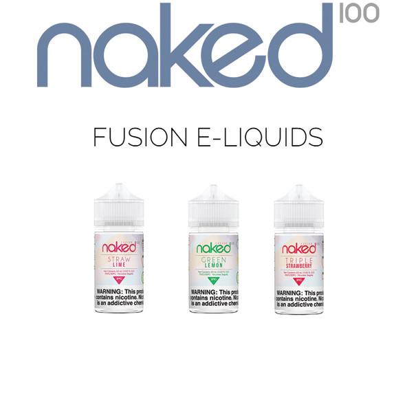 Naked 100 Fusion E-Liquids   60 ml
