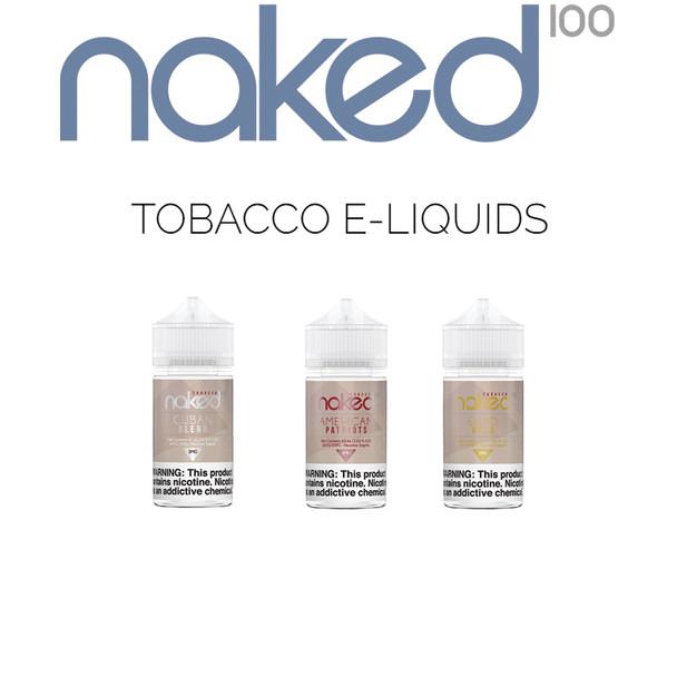 Naked 100 Tobacco E-Liquids | 60 ml