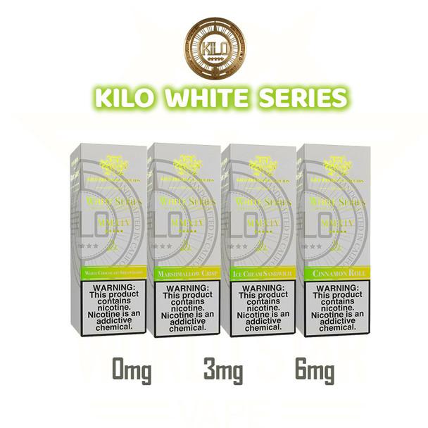 kilo white series 100ml eliquid wholesale all flavors