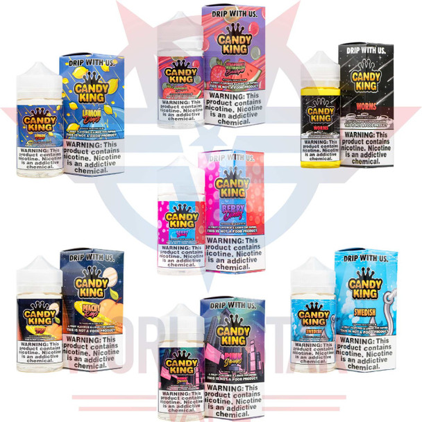 CANDY KING BY DRIP-MORE   100 ML   WHOLESALE