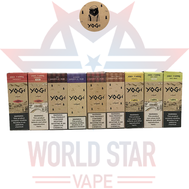 YOGI E-LIQUIDS | 60 ML | ALL FLAVORS | WHOLESALE