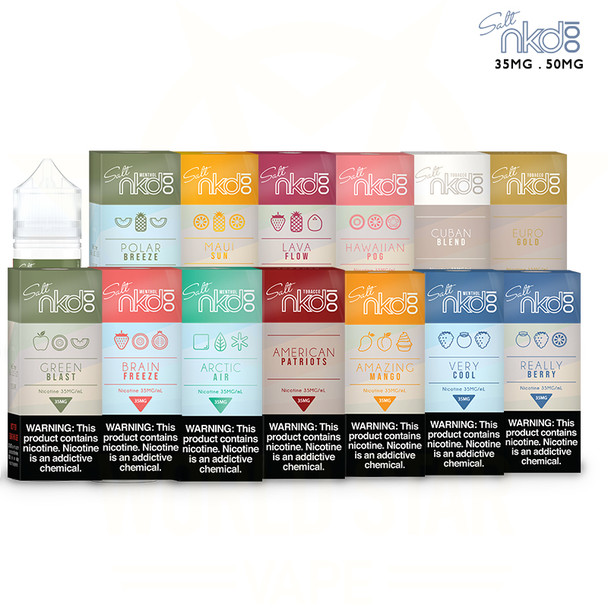 naked100 nicotine salts all flavors wholesale