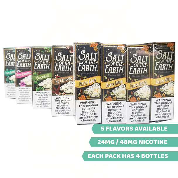 Salt of the Earth nicotine salt wholesale