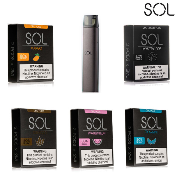 SOL DEVICE | THE COMPLETE VAPE SOLUTIONle