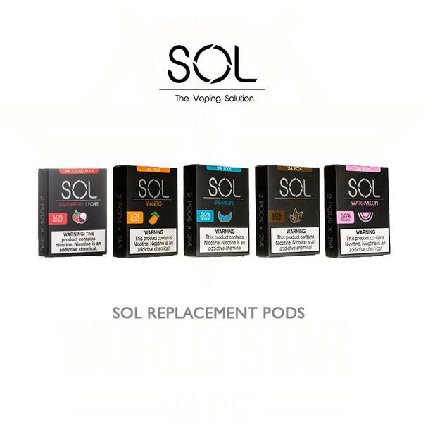 Sol Vape Pods Wholesale All Flavors