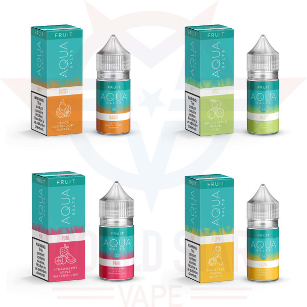 Aqua Fruit Series Nicotine Salt Wholesale