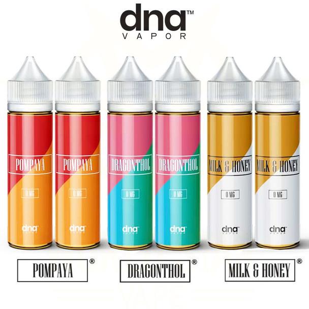DNA Vapor Premium Eliquid 120ml Wholesale