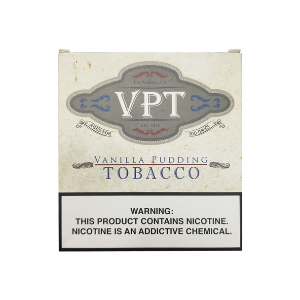 "VPT ""VANILLA PUDDING TOBACCO"" DISPOSABLE DEVICE 