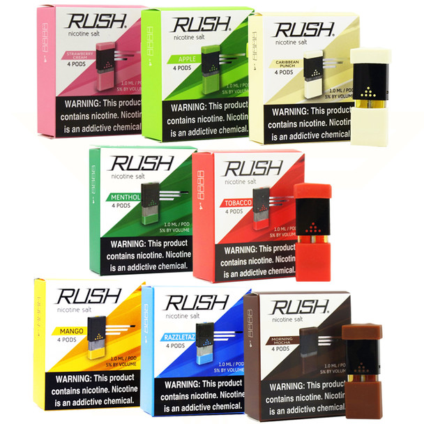 Rush Pods All Flavors Wholesale -  JuUL compatible pods