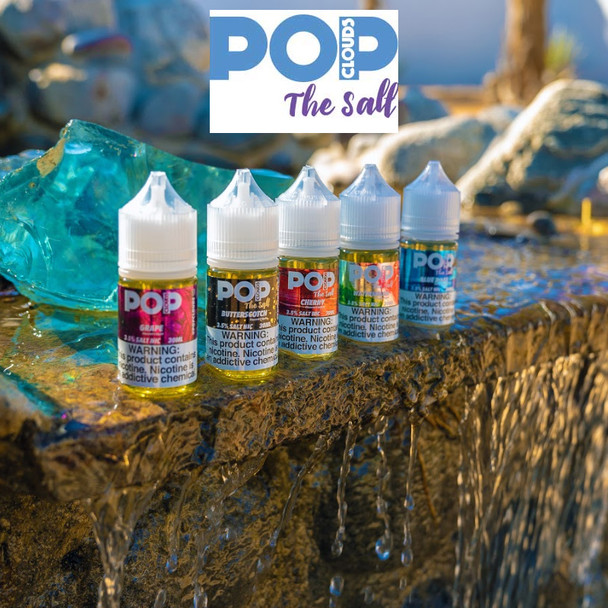 POP CLOUDS THE SALT | 2 X 30 ML | PACK OF 2 | WHOLESALE