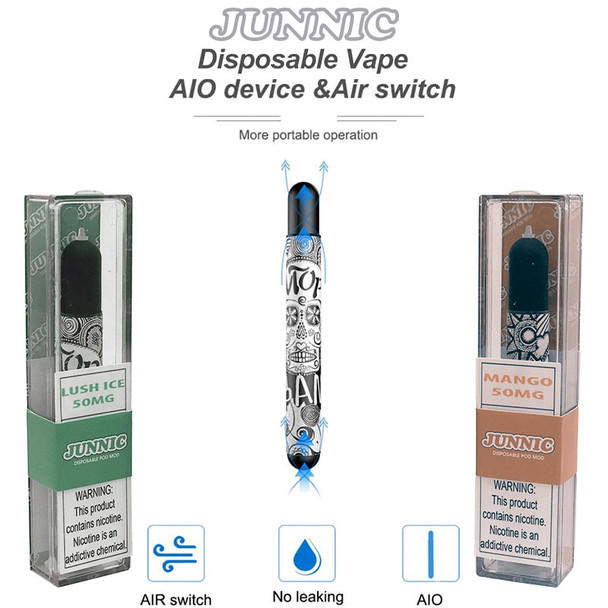 JUNNIC DISPOSABLE POD MOD | WHOLESALE