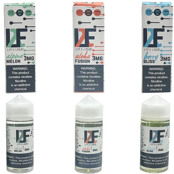 LYF E-LIQUIDS | 100 MLW-LIQUID | WHOLESALE