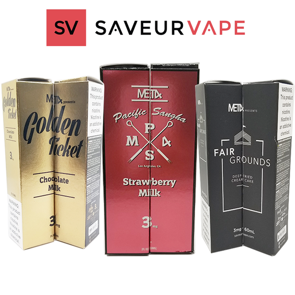MET4 BY SAVEURVAPE | 60 ML E-LIQUID