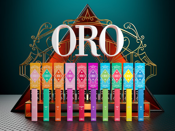 ORO DISPOSABLE VAPE DEVICE | 5% NICOTINE | 300 PUFFS | WHOLESALE
