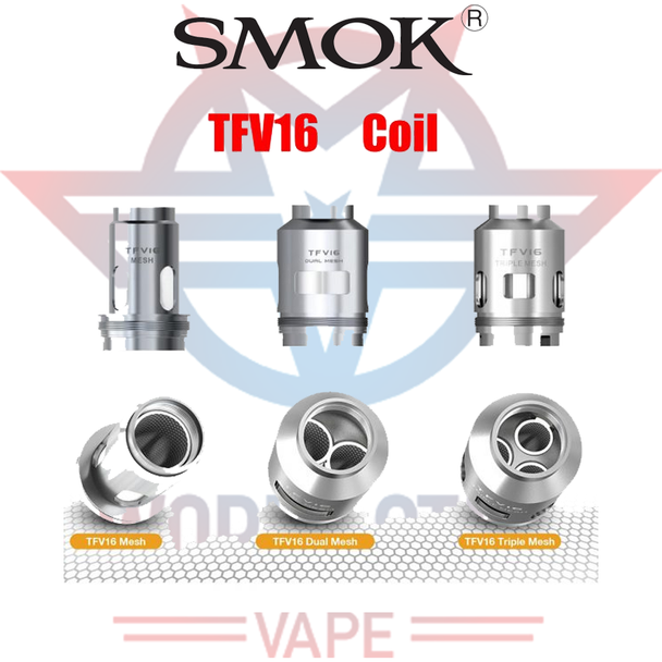 SMOK TFV16 MESH REPLACEMENT COILS | 3 COILS PER PACK