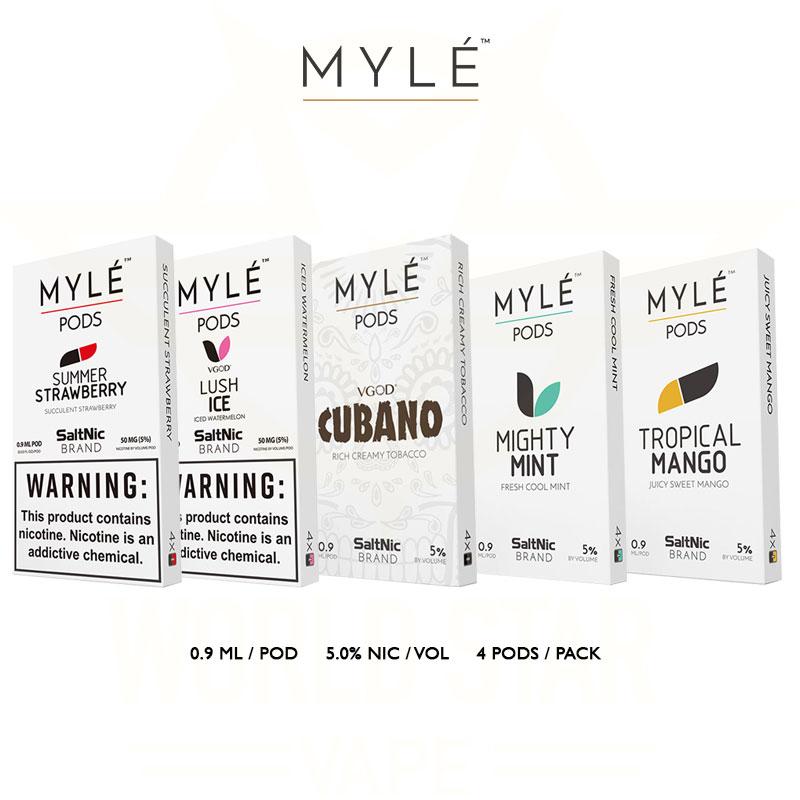 Myle Vapor Replacement Pods wholesale