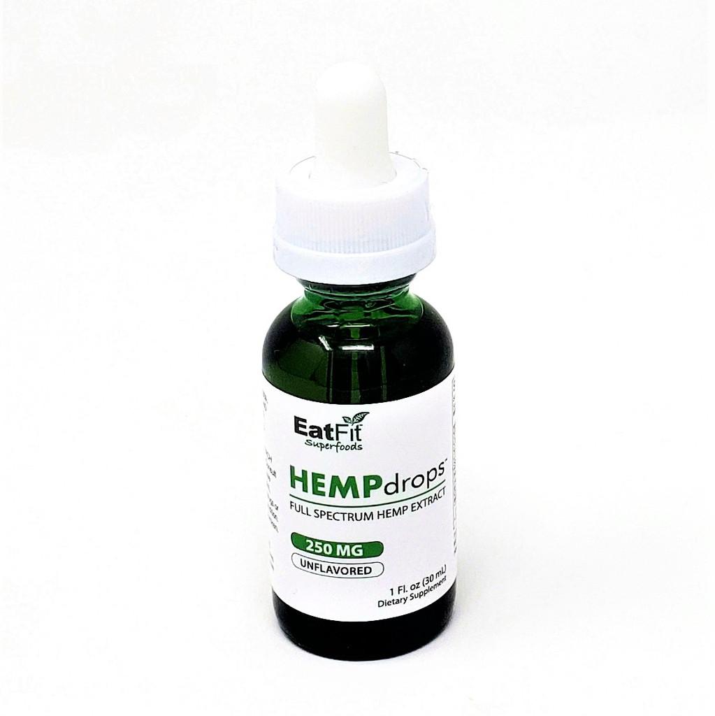 HEMPdrops - Full Spectrum Hemp Extract 250 mg