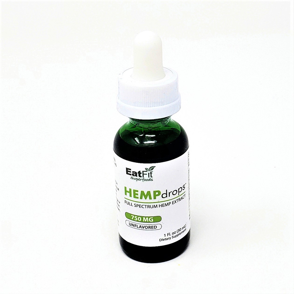 HEMPdrops 750 mg - Full Spectrum Hemp Extract