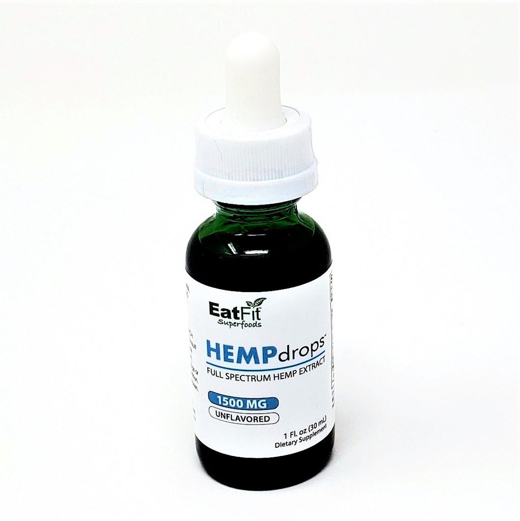 HEMPdrops 1500 mg - Full Spectrum Hemp Extract.