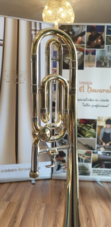 Conversion done on Pedro Pastor's trombone by El Havaral of Spain