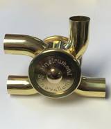 "Bass Trombone Rotary Valve Open Port, 90/180 Our Rotary Valves are 1.437"" Diameter"