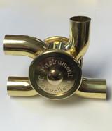 "Bass Trombone Rotary Valve Open Port, 90/180 Our Rotary Valves are 1.437"" Diameter"