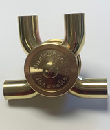 "Bass Trombone Rotary Valve 90/90 Ports Our Rotary Valves are 1.437"" Diameter"
