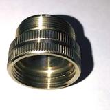 Trombone Mouthpipe Fine To Coarse Adapter.  Use Coarse Threaded Mouthpipes in Your Fine Threaded Receiver!