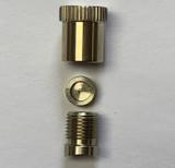 Trombone Nickel Small Detachable Brace Post Assembly