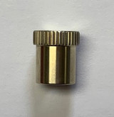 5/16 x 32 Knurled Nickel Nut for Small Detachable Brace Post Assembly